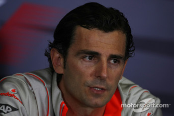 FIA press conference: Pedro de la Rosa, Test Driver, McLaren Mercedes