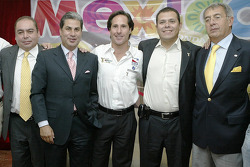 Mario Dominguez and PCM announment in Mexico City: Mario Dominguez with Mexico City Tourism Board guests