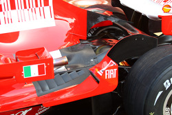 Ferrari photoshoot: Ferrari F2008 detail