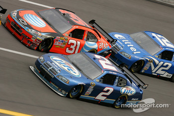Kurt Busch and Jeff Burton