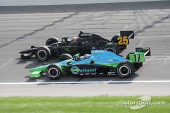 Ryan Hunter-Reay and Marty Roth