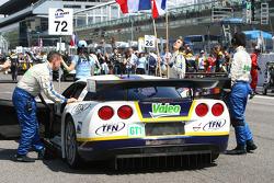 #72 Luc Alphand Aventures Corvette C6.R: Olivier Beretta, Patrice Goueslard, Guillaume Moreau
