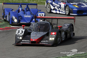 #33 Speedy Racing Team Sebah Lola B08/80 Coup - Judd: Xavier Pompidou, Steve Zacchia, Andrea Belicchi