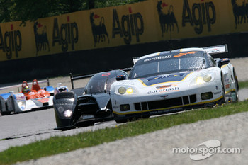 #72 Luc Alphand Aventures Corvette C6.R: Olivier Beretta, Patrice Goueslard, Guillaume Moreau