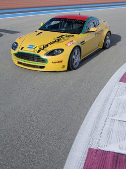 Aston Martin N24 GT4 on track