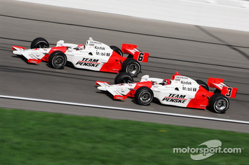 Ryan Briscoe and Helio Castroneves