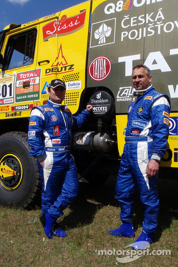 Tatra Team: Ales Loprais and Milan Holan