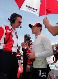 Graham Taylor, Super Aguri F1 Team Sporting Director, and Anthony Davidson Super Aguri F1 Team