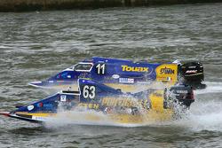 #63 Team Touax Tfi: Frédéric Loones, Fabien Lecourt, Thomas Boulier, Cyrille Guettier