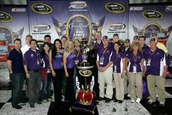 Victory lane: Crown Royal VIPs