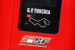 Scuderia Ferrari pitwall gantry