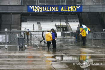 IMS security trying to keep dry