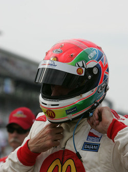 Justin Wilson after his qualifying run