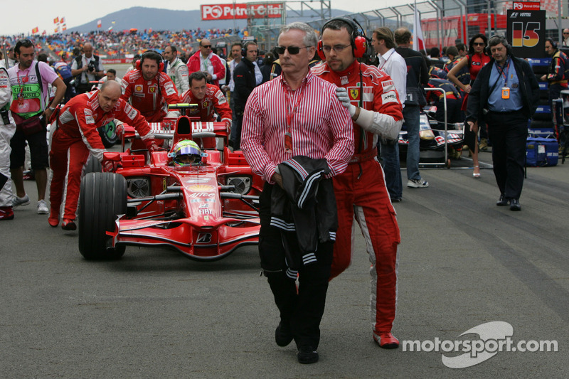 David Robertson, Manager of Kimi Raikkonen