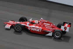 Scott Dixon on his pole winning run
