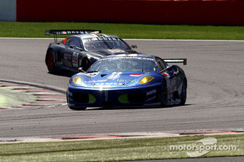 #99 JMB Ferrari F430 GT: Alain Fert, Ben Aucott