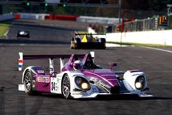 Spinning; #34 Van Merksteijn Motorsport Porsche RS - Spyder: Jos Verstappen, Peter Van Merksteijn