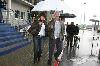 Rolf Schumacher, father of Michael Schumacher, with Barbara Stahl