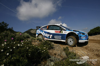 François Duval and Eddy Chevailler, Stobart VK M-Sport Ford World Rally Team