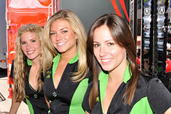 Three lovely Patron Tequila girls