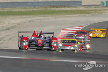 #2 Audi Sport North America Audi R10 TDI: Lucas Luhr, Marco Werner
