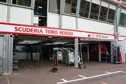 Scuderia Toro Rosso, garage