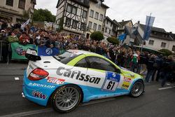 #61 Carlsson Racing Mercedes SLK Carlsson: Rainer Brückner, Ingvar Carlsson, Vitaly Dudin, Vadim Kharlov