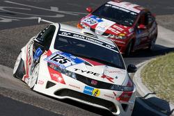 #125 Honda Civic Type R: Cyril Calbasi, Olaf Bendiken, Fabian Ottmann