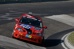 #255 Deutscher Sportfahrerkreis e.V. Seat Ibiza Cup: Ralf Zensen, Lothar Wilms, Christopher Peters