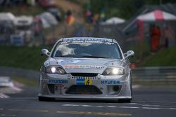 #95 Team DMV e.V. Hyundai Coup V6: Jürgen Schumann, Peter Schumann, Christian Hohenadel, Peter Cate