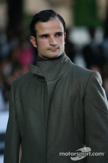 Vitantonio Liuzzi, Test Driver, Force India F1 Team Amber Fashion which benefits the  Elton John Aids Foundation