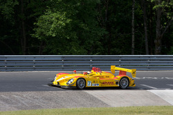 Timo Bernhard does a demo run in the Porsche RS Spyder on the legendary Nordschleife