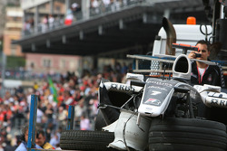 The car of Nico Rosberg, WilliamsF1 Team after his crash