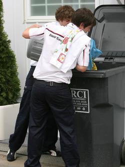 BMW Sauber F1 Team, team members