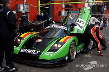 #25 Gravity Racing International Mosler MT 900: Vincent Radermecker, Ron Marchal