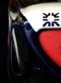 Williams F1 Team side pod detail