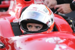 Dan Wheldon before the race