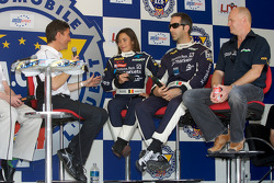 #18 Rollcentre Racing Pescarolo Judd: Vanina Ickx, Joao Barbosa and Martin Short