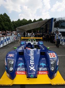#18 Rollcentre Racing Pescarolo Judd at scrutineering