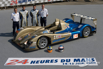 #14 Creation Autosportif Creation CA07 AIM: Stuart Hall, Johnny Mowlem
