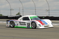 #59 Brumos Racing Porsche Riley: Joao Barbosa, JC France, Hurley Haywood