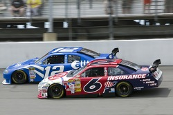 David Ragan and Ryan Newman
