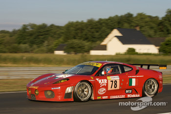 #78 AF Corse Ferrari F430 GT: Thomas Biagi, Christian Montanari, Toni Vilander