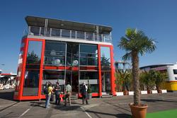 Scuderia Ferrari team hospitality
