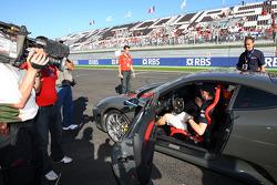 Sébastien Bourdais, Scuderia Toro Rosso takes some prize winners for a ride