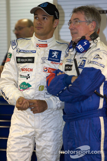 Stéphane Sarrazin and Michel Barge