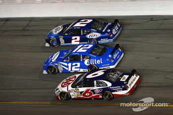 Kurt Busch, Ryan Newman and David Ragan