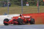 Felipe Massa, Scuderia Ferrari, F2008, spin