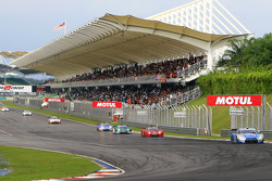 General view of the Grandstand