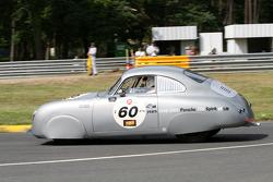 #60 Porsche 356 1950: Jean-François Enillard, Gilles Morel